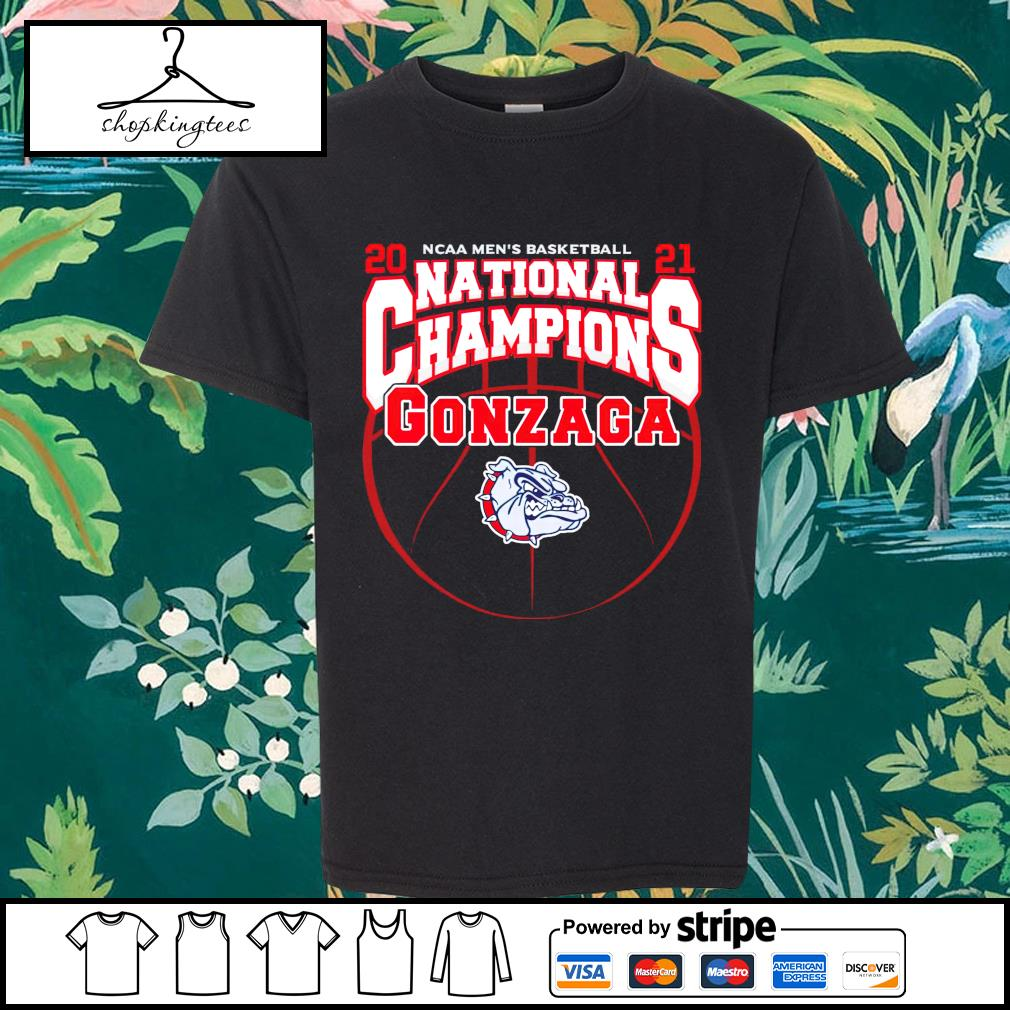 National Champions Gonzaga Bulldogs 2021 NCAA Men's Basketball shirt