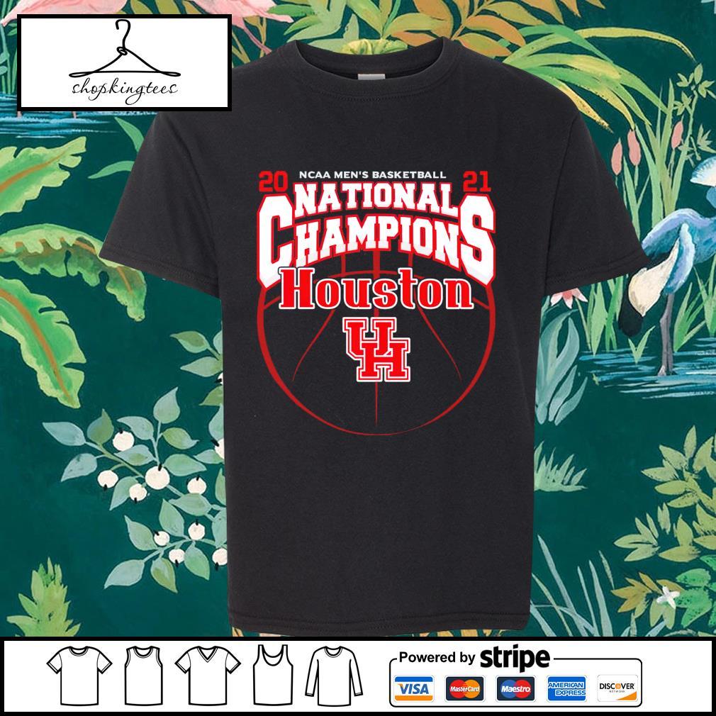 National Champions Houston Cougars 2021 NCAA Men's Basketball shirt