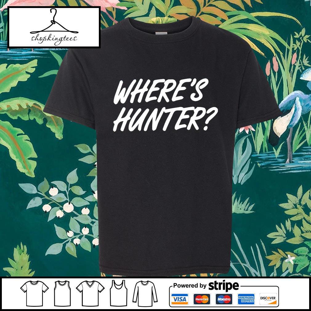 Trump Where's Hunter shirt